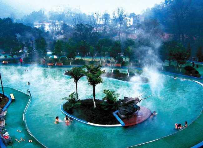 Top Hot Springs Resorts in Chongqing China