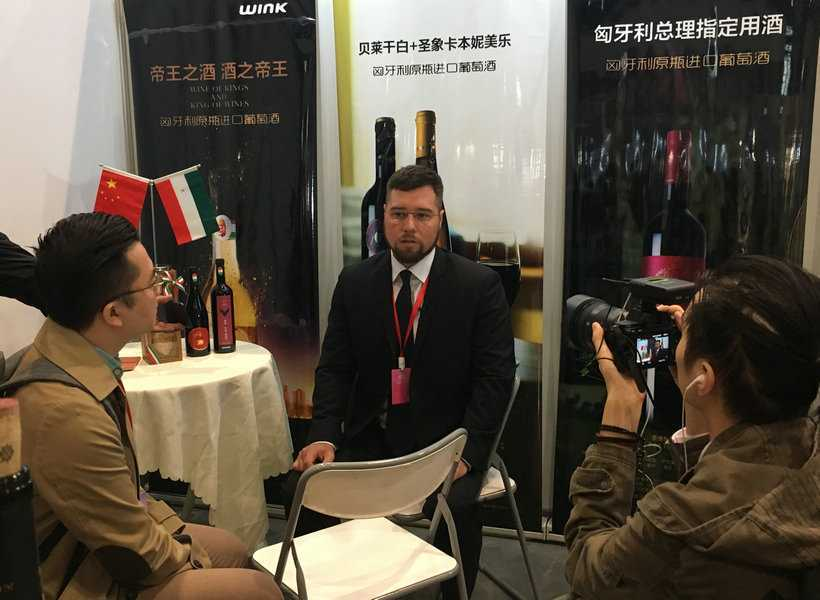 Dióssi Lóránd, Consul General of Hungary in Chongqing, in the interview with iChongqing