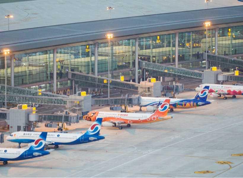 Terminal 3 of Chongqing Jiangbei International Airport