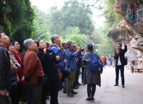 Global Travel Agents Visit World Heritage in Chongqing