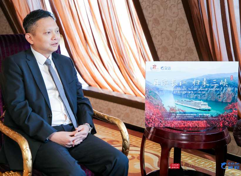 Steven Pang, Consul General of Singapore in Chengdu, in the interview with iChongqing