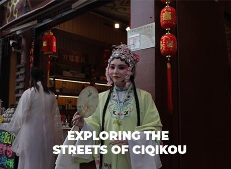 Mikkel's Vlog : Exploring the Streets of Ciqikou