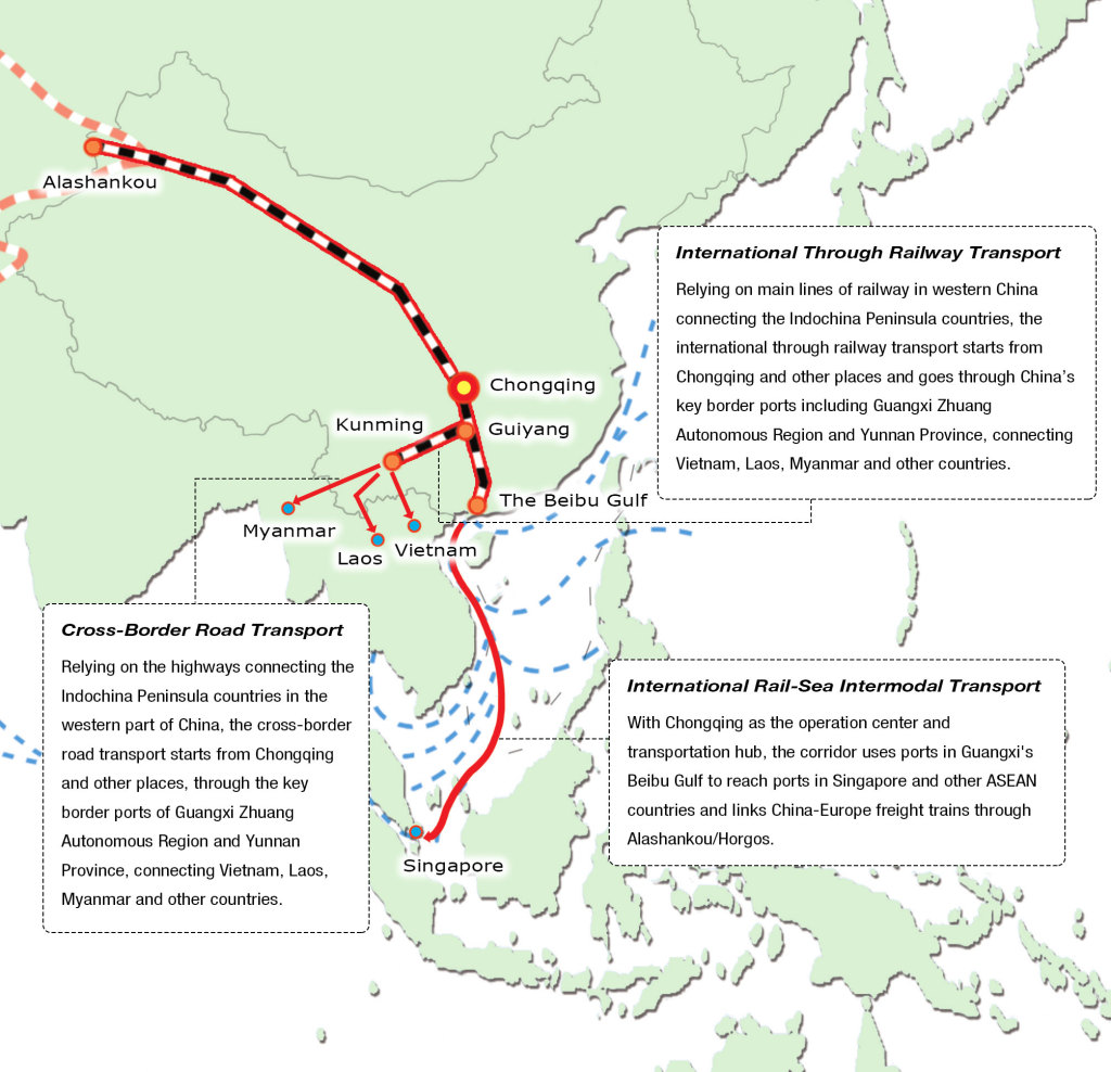 Logistics-route
