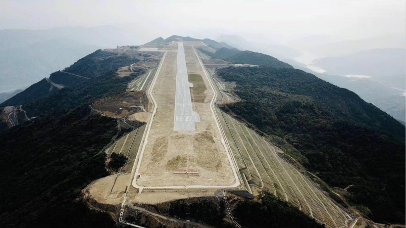 test-flight-airport