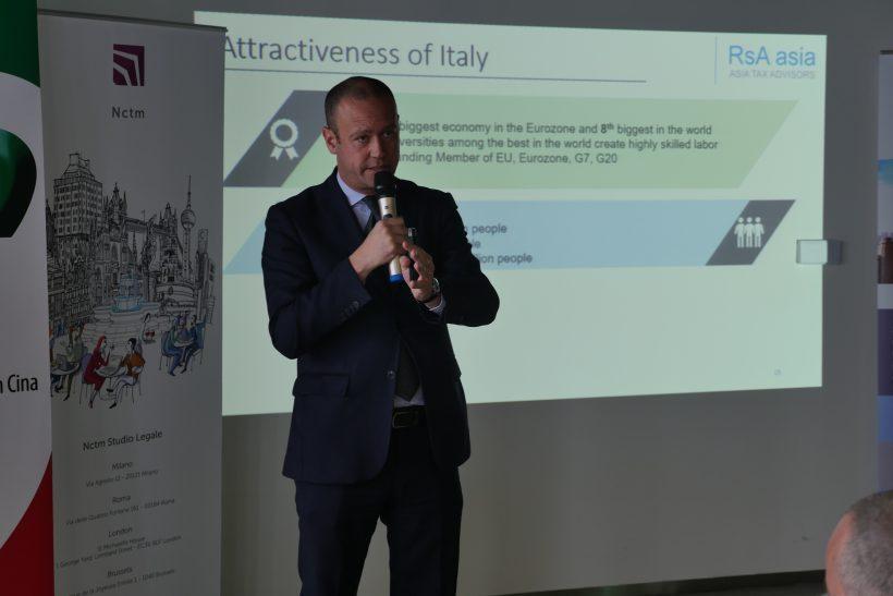 Lorenzo Riccardi,CICC Board Member,Managing Partner of RsA Asia Shanghai