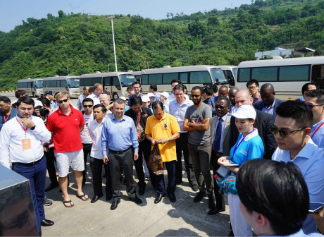 International Attendants to the B&R Forum for Interconnected Land-Sea Development Took a Tour Around Chongqing