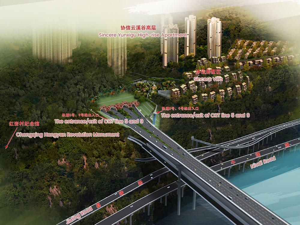 Hongyancun-Tunnel-overall-design-sketch-eng