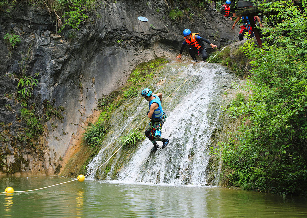Sporting-canyoning