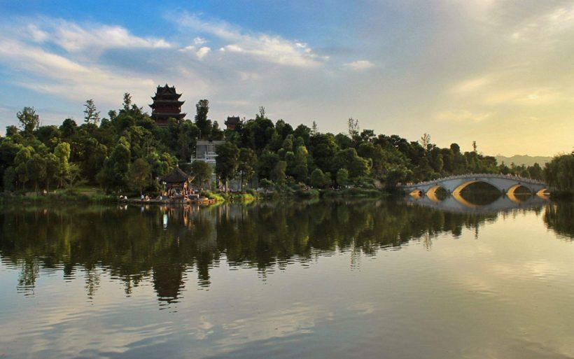 View of Kaizhou