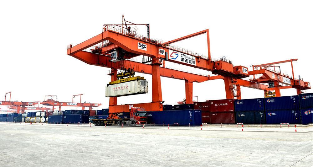 Chongqing international logistics hub park