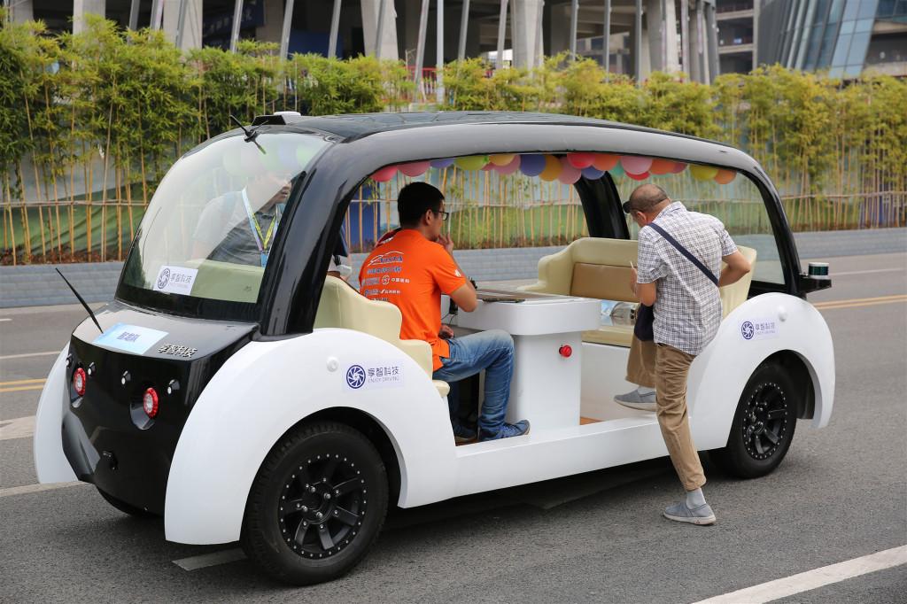 Autonomous-Driving-tour-car