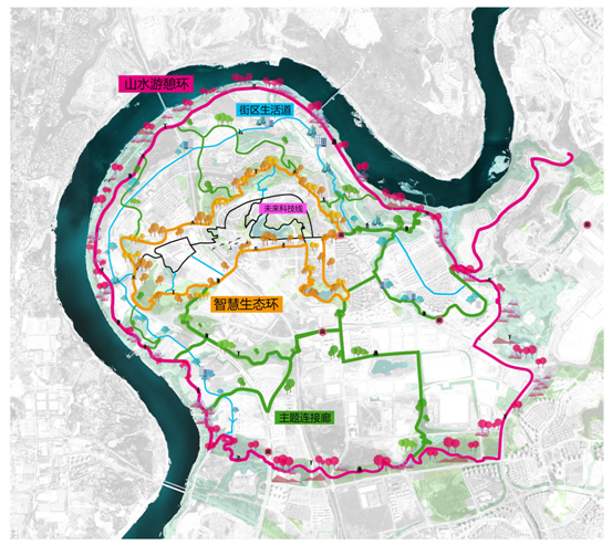 Map of Lijia trail
