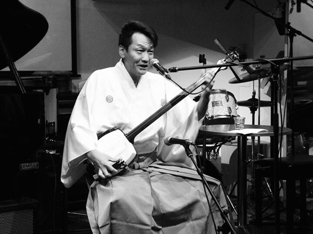 Shamisen performance team Guodo Sangen Yuyokai