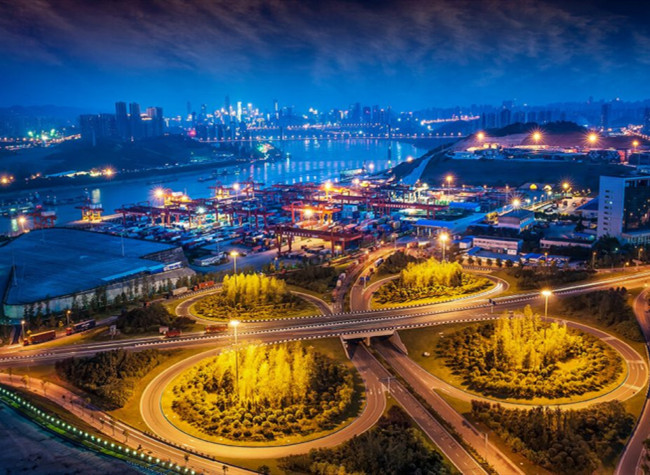 Gorgeous Night Viewing in Chongqing