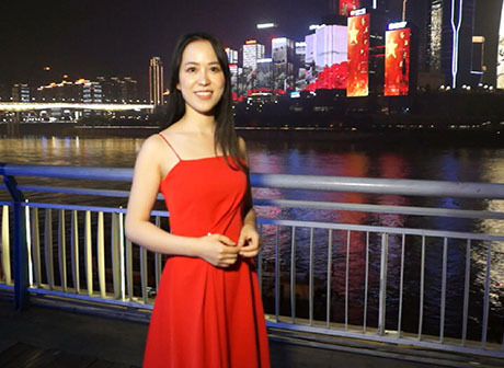 Chongqing's Light Show Broadcast Live on China Central Television  (CCTV)