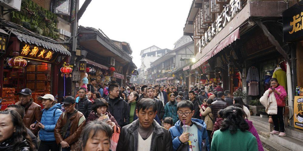 Ciqikou-Ancient-Town-visitors