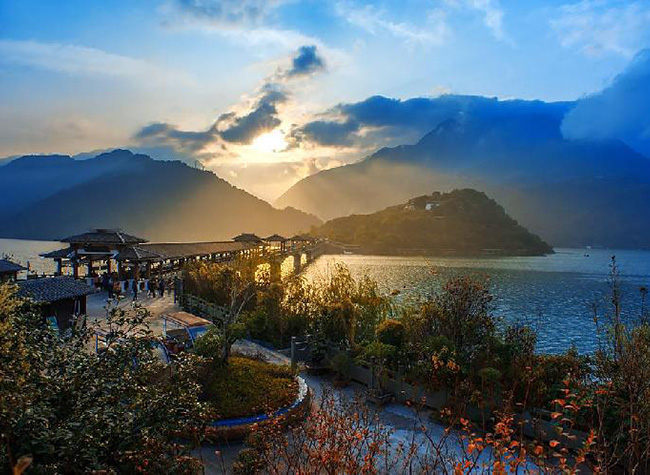 Baidicheng, A Favored Tourist Destination Along The Three Gorges