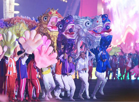 Chongqing's Intangible Cultural Heritage Stages at China's National Day Gala