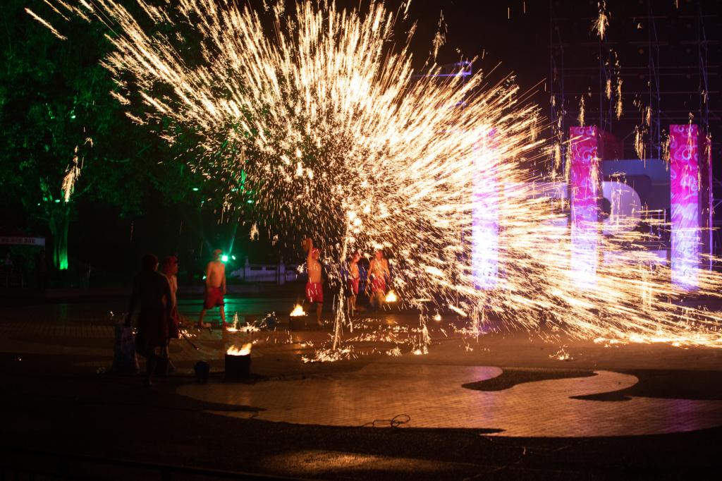 Tongliang Dragon Fire Dance