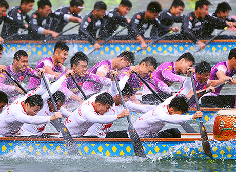 2019 China Dragon Boat Competition Finals Closes in Chongqing
