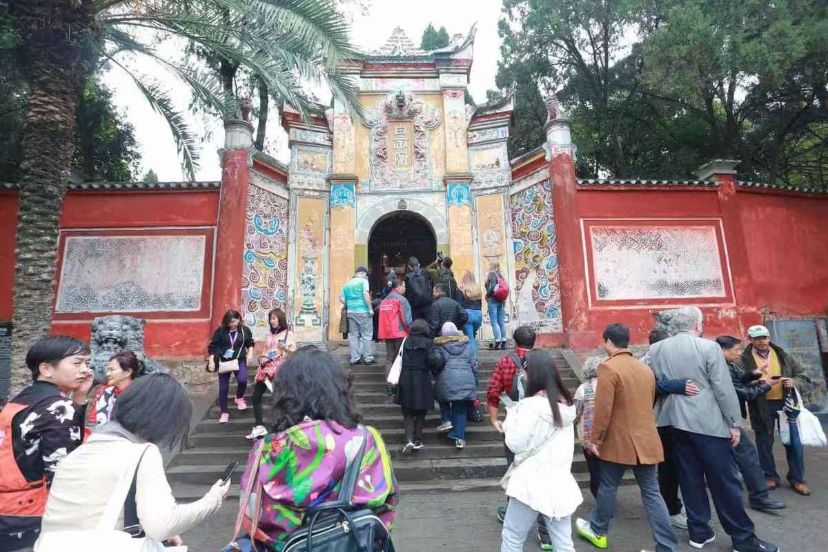 Baidi City along the Three Gorges Tour