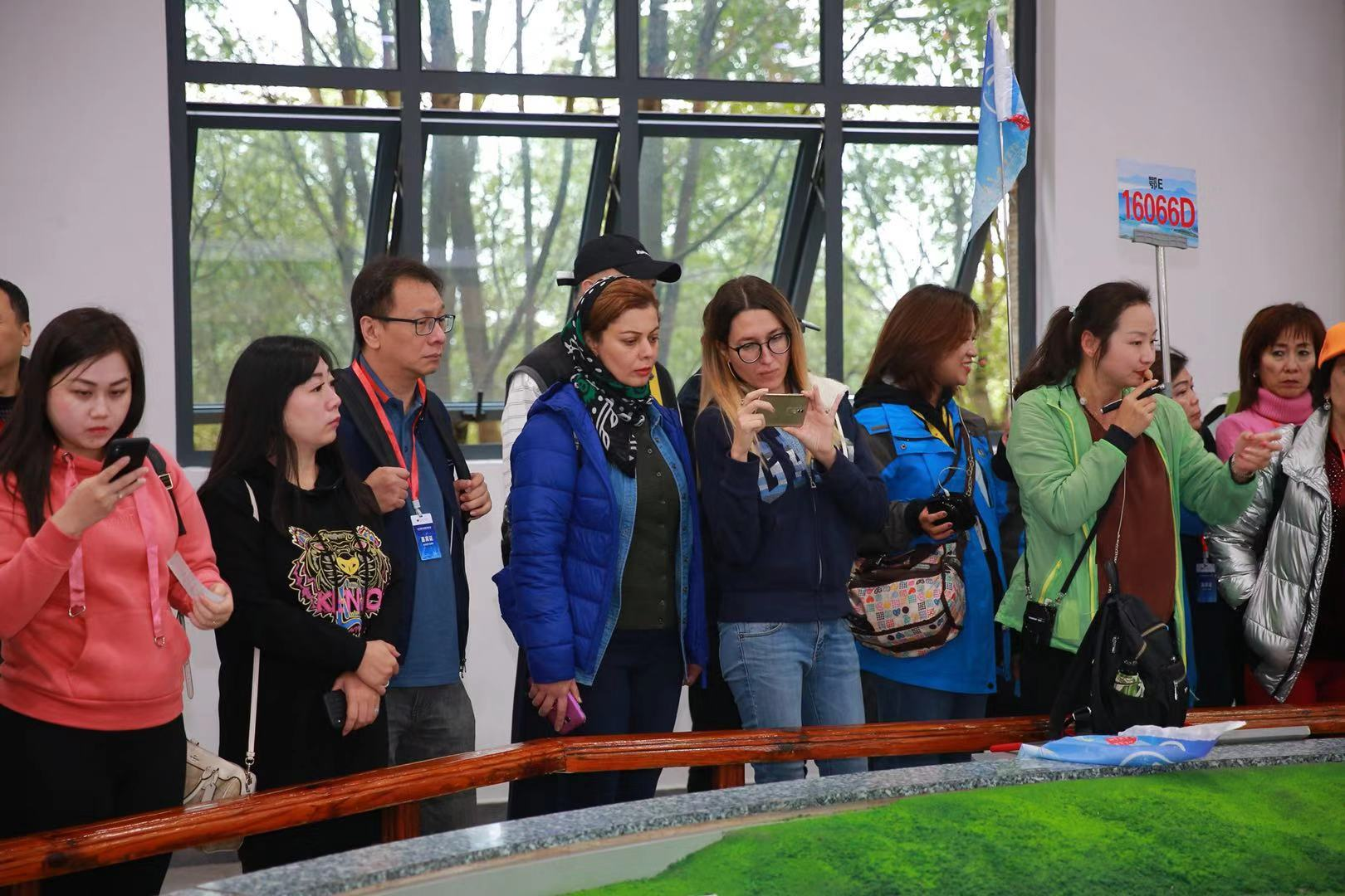 The global travel agents at the Three Gorges Dam