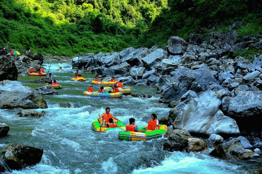 Pengshui Ayi River