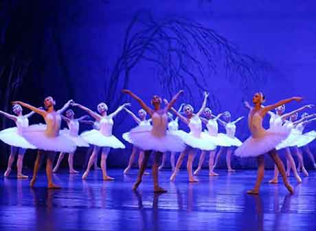 Chief Dancer of Mariinsky Ballet Troupe Stages Classic Swan Lake