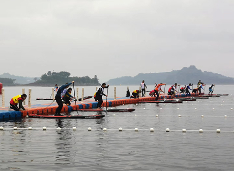 Canoeing Invitational Tournament for China-Hungary Relations Opens