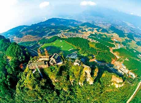 Gujian Mountain in Qijiang District