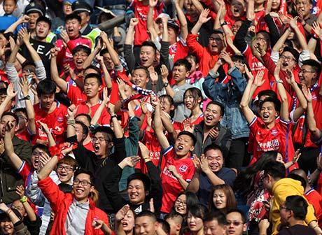 Construction of Chongqing Liangjiang Football Match Centre Stadium Paces up