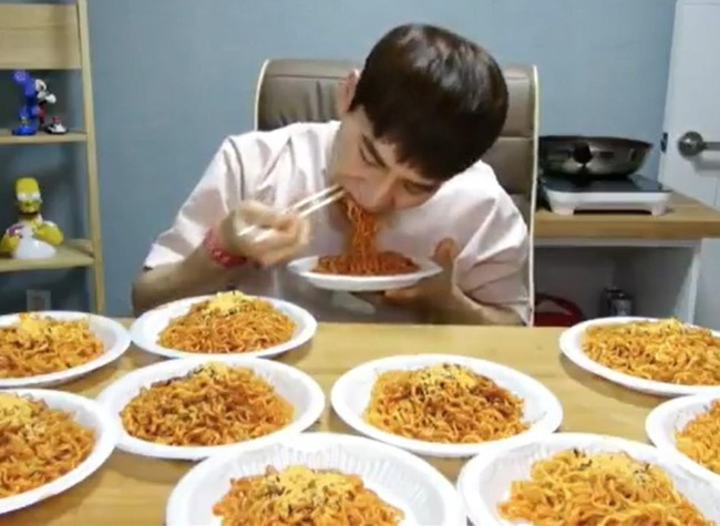 Extreme Eating in Korea