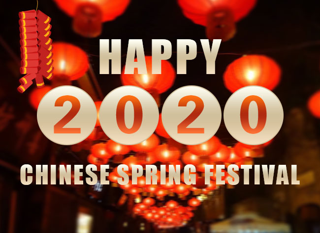 Happy 2020 Chinese Spring Festival