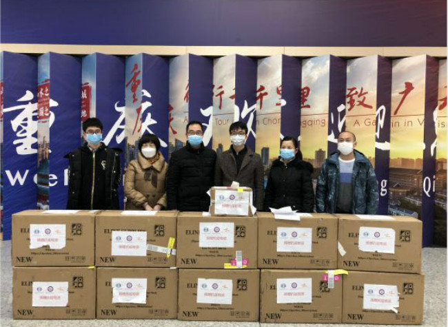 30 hours! They Sent Medical Supplies Back China