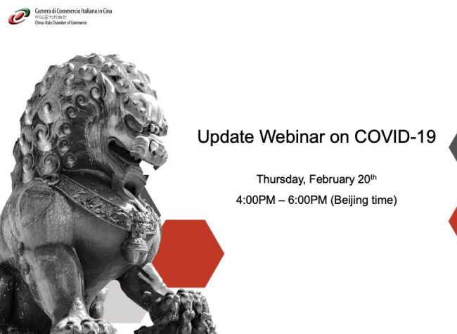CICC's Webinar on COVID-19: Best Possible Support for Foreign Companies