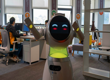 Smart Interactive Robots Take the Fight Against COVID-19 to Chongqing North Railway Station