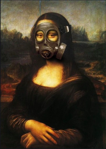 Mona Lisa is closed for business.