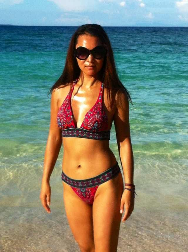 Xiaolin in Boracay for Spring Festival vacation