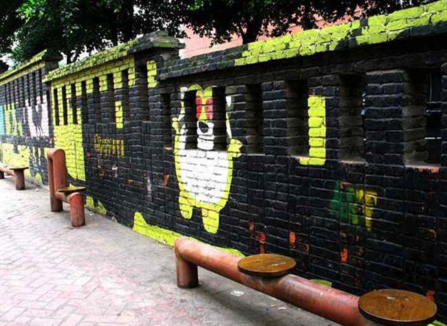 Huangjueping Graffiti Art Street