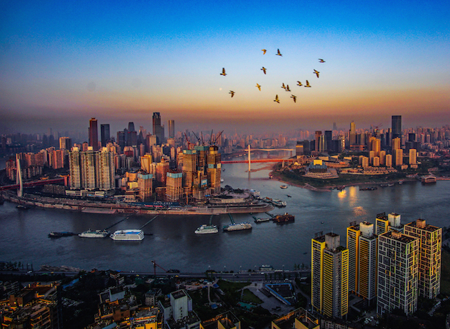 SW China's Chongqing Fuels the Construction of ILSTC and Inland International Financial Center