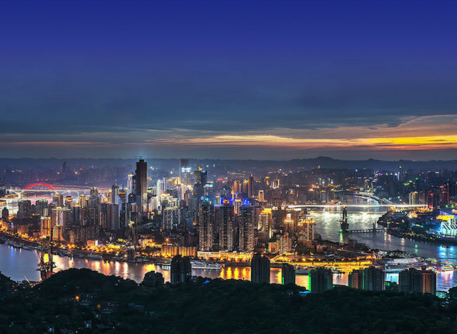 Ten Routes for Having Fun in Yuzhong District
