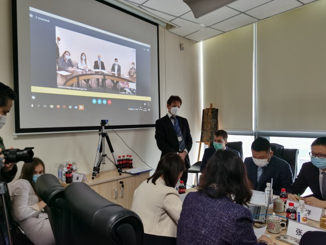 Doctors and Experts from Chongqing Sharing