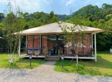 Nanshan Camping Resort Offers Great Outdoor Experience in Chongqing - Vlog