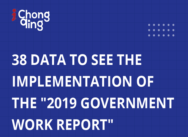 Graphics: Implementation of the Tasks for the 2019 Government Work Report