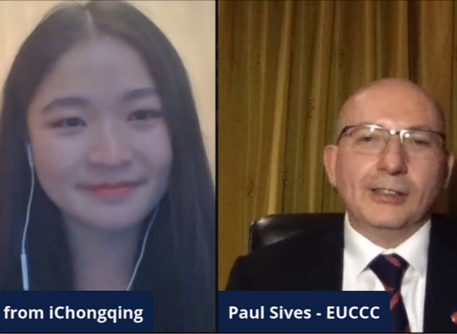 Chairman of SW Chapter of EUCCC: China Seeks to Support Companies inside China both Chinese and Foreign-Invested Ones