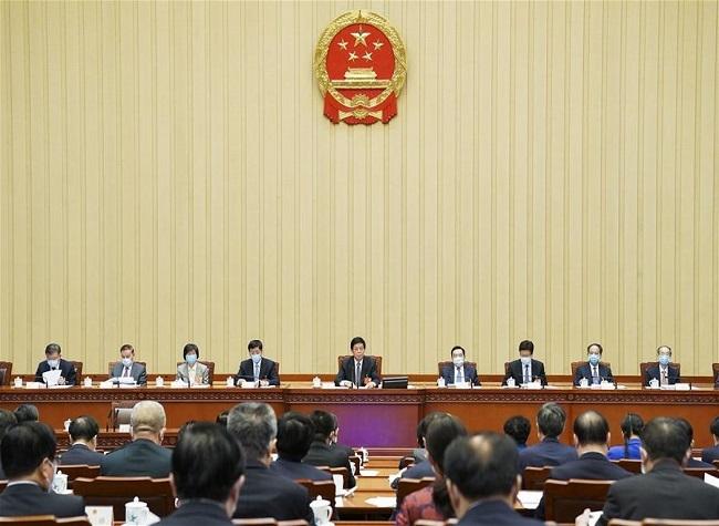 China Releases Work Report of Top Legislature