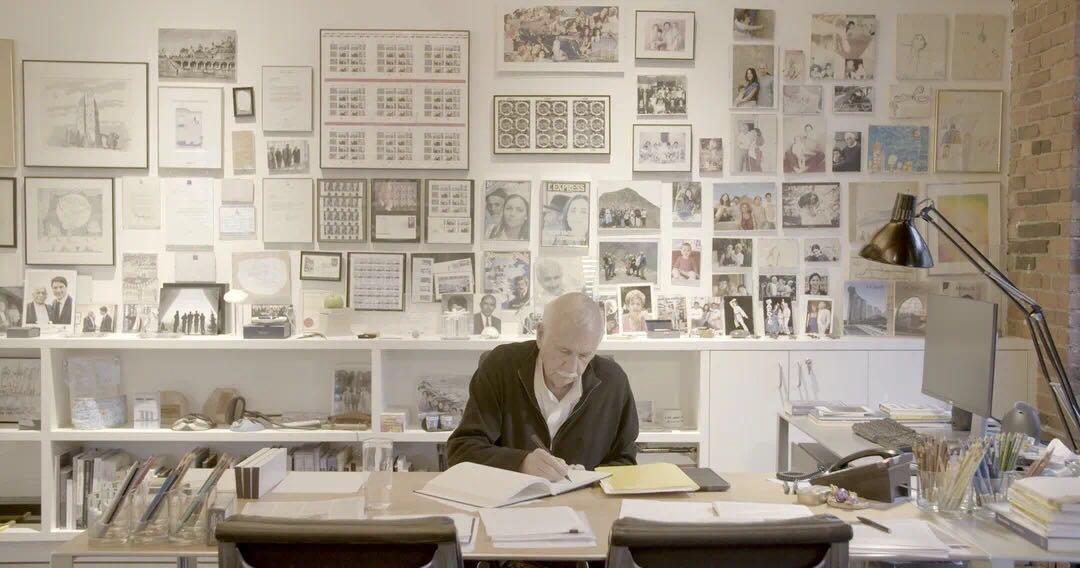 Moshe Safdie, the architect of Raffles City.