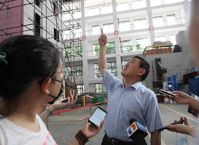 World's First Six-story Steel-framed & 8-magnitude-earthquake-proof Building Modeled by CQU