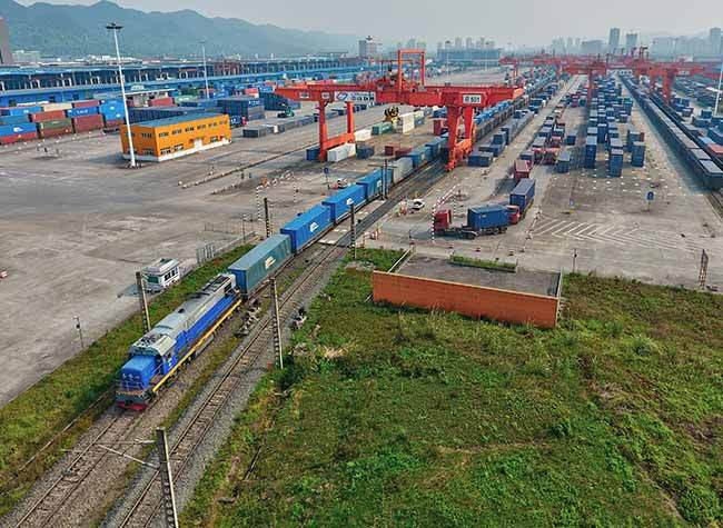 More than 200 Trips! The China Railway Express (Yuxinou) See a Record of Trips in a Single Month