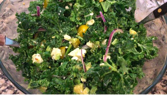 Kale makes a body good.
